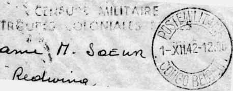 Bureaux de poste militaire durant la seconde guerre mondiale - Bureau de poste belgique ...